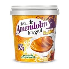Pasta de Amendoim Integral  450g- Sem Açúcar - Mandubim