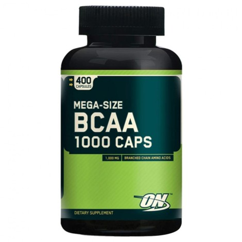 Bcaa 1000 400caps - Optimum Nutrition