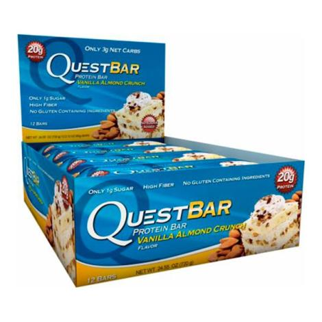 Quest Bar Protein 60g - caixa 12 Barras -  Quest Nutrition