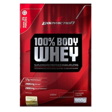 100% Body Whey Refil 900g ( Vencimento 05.2020) - Body Action