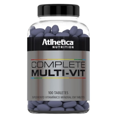 Complete Multi Vit 100 Tabletes - Atlhetica Evolution