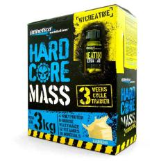 Hardcore Mass 3kg + Creatine 60 caps - Atlhetica Evolution