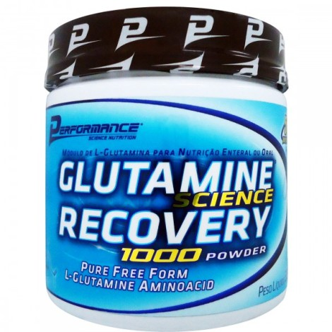 Glutamine Science Recovery Powder 300g - Performance Nutrition