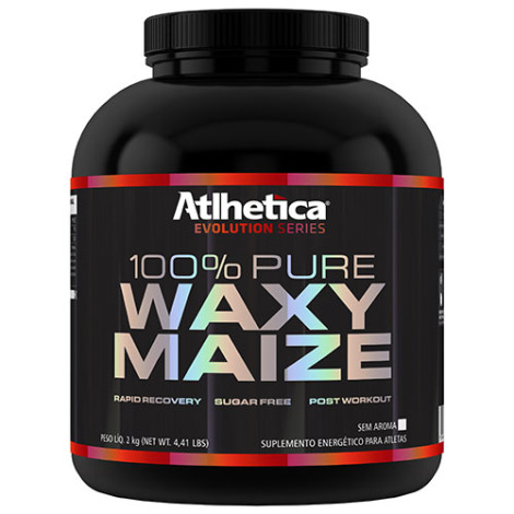 100% Pure Waxy Maize 2kg  - Atlhetica Nutrition