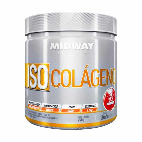Iso Colágeno 250g - Midway Labs