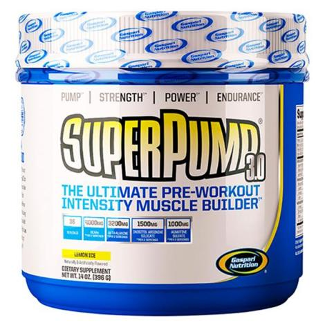 Super Pump 3.0 457g - Gaspari Nutrition
