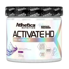 Activate HD Pre-Workout 240g - Rodolfo Peres Series - Atlhetica Nutrition
