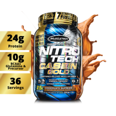 Nitro Tech Casein Gold 1150g - Muscletech