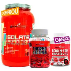 Kit Isolate Definition + Thermo Abdomen + Bcaa M-Tor