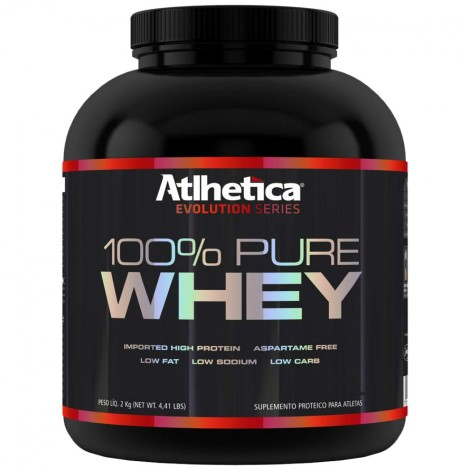 100% Pure Whey Evolution Series 2000g - Atlhetica
