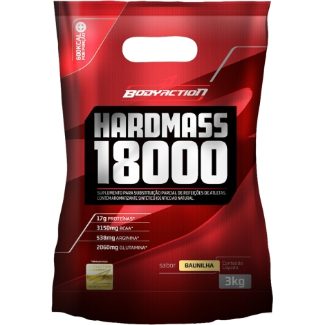 Hard Mass 18000 Refil 3kg - Body Action