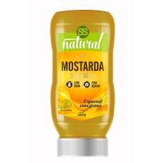 Mostarda 420g - Zero Sódio - SS Natural