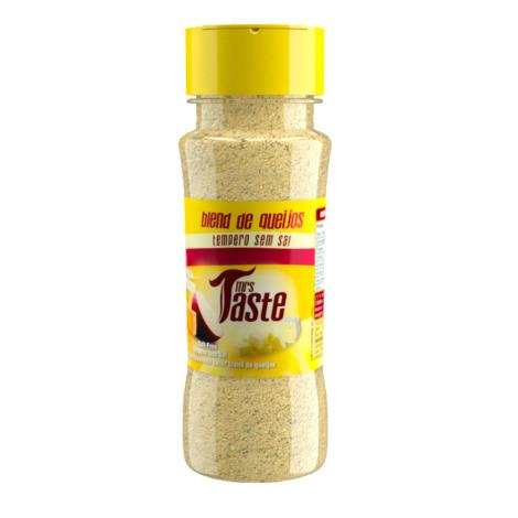 Mrs Taste Sabor Blend de Queijo, Sem Sal e Zero sódio 55g