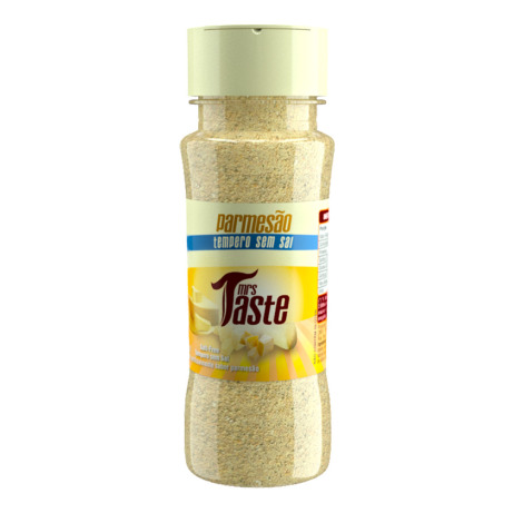 Mrs Taste Sabor Parmesão, Sem Sal e Zero sódio 55g