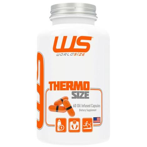 Thermo Size 60 Oil Infused Capsules - World Size