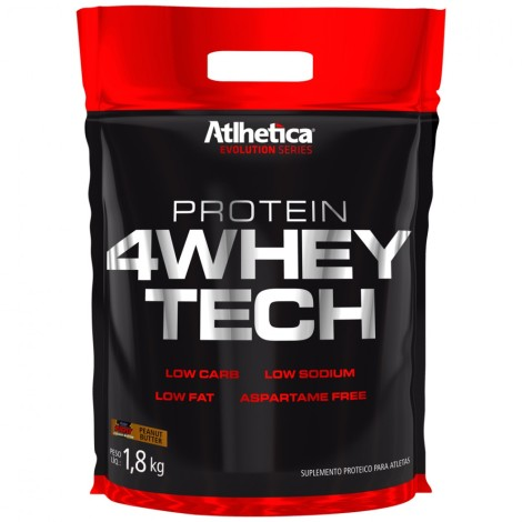 Protein 4 Whey Tech Refil 1,8kg - Atlhetica Nutrition