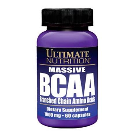 Massive BCAA 1000mg 60 Cápsulas - Ultimate Nutrition