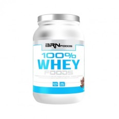 100% Whey Protein Foods 900g - BR Foods