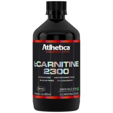 L-Carnitine 2300 480ml - Atlhetica Nutrition