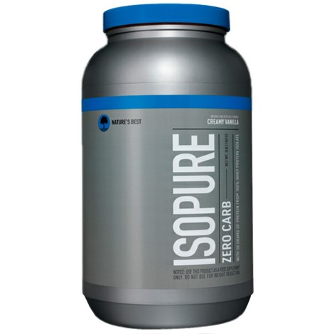 Isopure Zero Carb 1361g - Nature´s Best