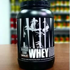 Animal Whey 907g + Camiseta Animal Amarela - Universal Nutrition