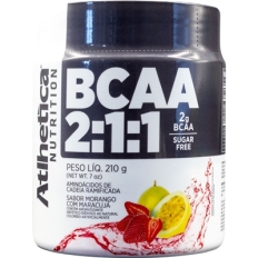 Bcaa Pro Series 2:1:1 Powder 210g - Atlhetica Nutrition