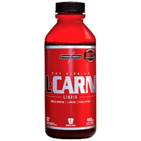 L-Carn Liquid 480ml - Sabor Uva - Integralmédica