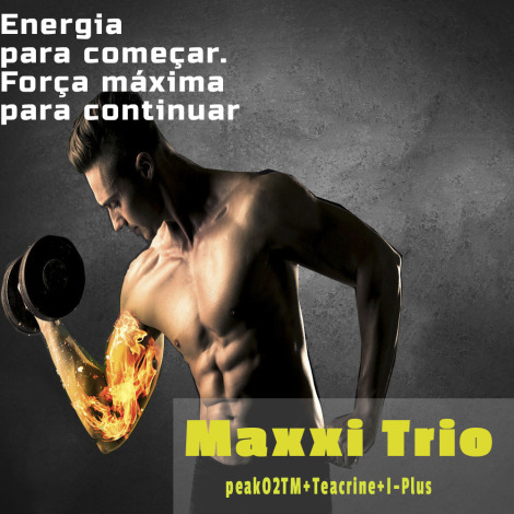 Maxxi Trio ( Peak O2 + Teacrine + I-Plus ) 30 doses