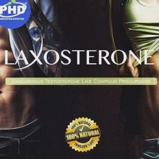 Laxosterone® 50mg + Piperina 5mg - Endogenous Testosterone Booster
