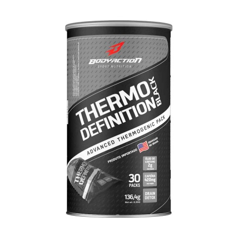 Thermo Definition Black 30 Packs ( Val 10.2019 ) - Body Action