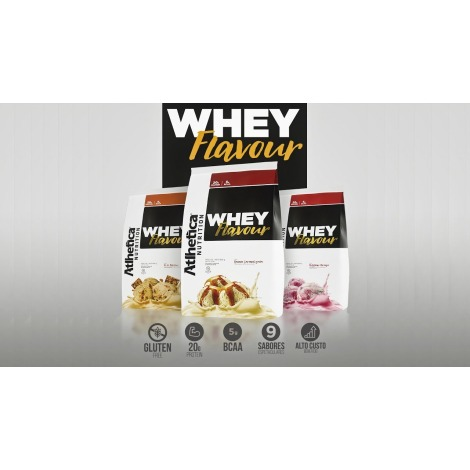 Whey Flavour Pouch 850g - Atlhetica Nutrition