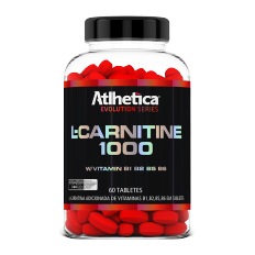 L-Carnitine 1000 60 Tabletes - Atlhetica Nutrition