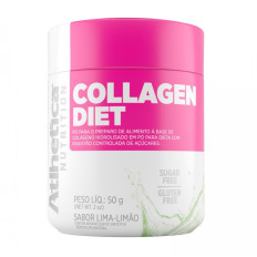 Collagen Diet 50g - Sabor Lima-Limão - Atlhetica Nutrition