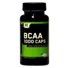 Bcaa 1000 60 Capsules - Optimum Nutrition